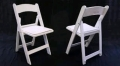 Rental store for CHAIR, WHITE FOLDING PADDED in Santa Rosa CA