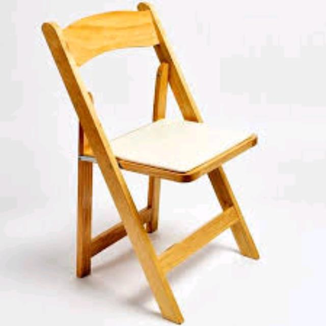 Where to find CHAIR, NATURAL WOOD PADDED in Santa Rosa