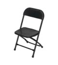 Rental store for CHAIR, CHILD BLACK FOLDING in Santa Rosa CA