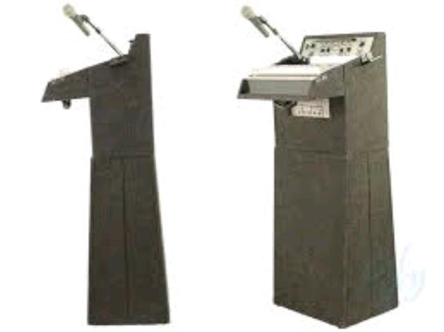 podium table top with speakers and mic rentals santa rosa ca where to rent podium table top. Black Bedroom Furniture Sets. Home Design Ideas